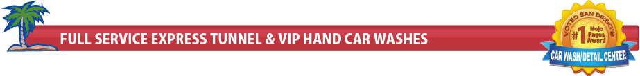 Express, Full Service and VIP Hand Washing